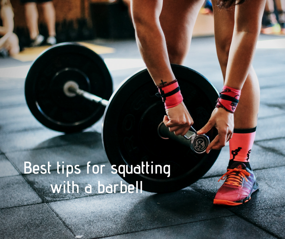 Best tips for squatting with a barbell