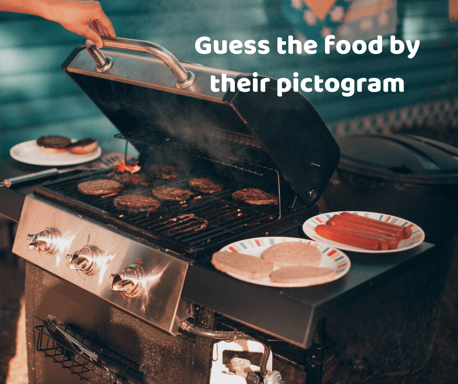 Guess the food by their pictogram
