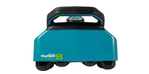 Thumper Lithium8 cordless battery powered professional percussive massager is strong, powerful, durable, and portable. Made with Canada with high quality materials.